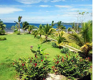 You can't beat Buena Vibra House's view to Bocas del Toro's Caribbean Sea